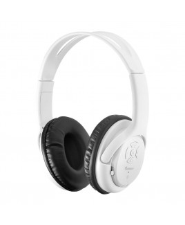 Impecca Bluetooth Stereo Headset + Music Player, White