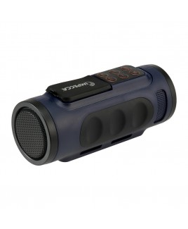 Bluetooth Bicycle Speaker with Headlight - Blue