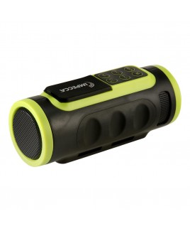 Bluetooth Bicycle Speaker with Headlight - Green