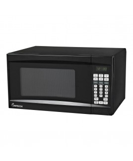 0.7 CU. FT. 700 Watt Countertop Microwave Oven, Black