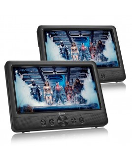 DVP-DS1010 10.1 inch Dual Screen DVD Player