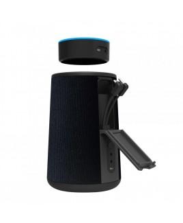 Impecca Cordless Speaker & Charging Dock for Echo Dot 2nd Gen. Black