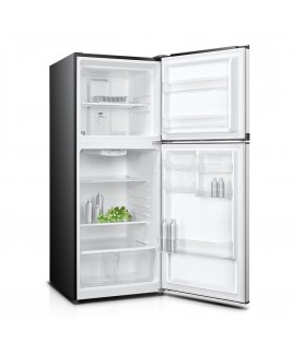 10.1 Cu. Ft. 24-inch Apartment Refrigerator with Top Mount Freezer, Black