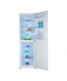 RA-2107 10.2 Cu. Ft. Apartment Refrigerator with Bottom Mount Freezer, White