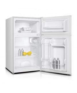 Impecca 3.1 Cu. Ft. Compact Double Door Refrigerator, White