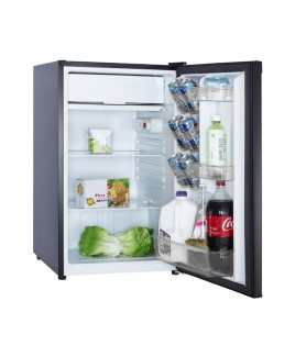RC-1446 4.4 Cu. Ft. Single Door Compact Refrigerator, Black