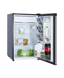 RC-1446 4.4 Cu. Ft. Single Door Compact Refrigerator, Stainless Look
