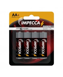 Alkaline AA LR06 Platinum Batteries 4-Pack