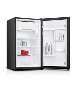 Impecca 3.3 Cu. Ft. Compact Refrigerator, Stainless Look