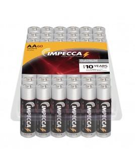 Alkaline AA LR03 Platinum Batteries 60-Pack