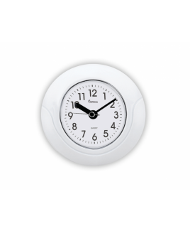 "IMPWCW55W 5.5"" Waterproof  Clock,  White"