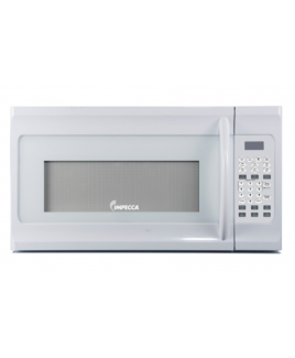 Impecca 1.6 Cu. Ft. Over the Range Microwave Oven, White