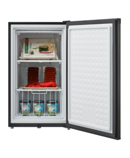 3.0 Cu. Ft. Compact Upright Freezer with Lock - Black