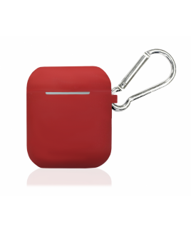 True Wireless Silicon Case - Scarlet Red