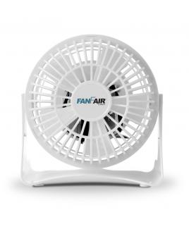 """FanFair 4"""" Personal desk Fan - White"""