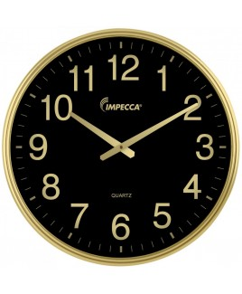 18-inch Wall Clock - Gold Frame