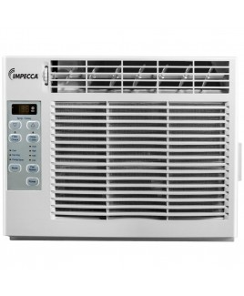 6,000 BTU Window Air Conditioner with Digital Display and Remote Controller
