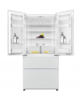 19-Cu. Ft. French Door Refrigerator - White