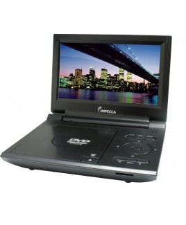 Portable DVD Player with 9-inch Widescreen Display - Black