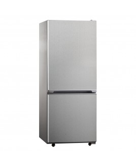 10.2 Cu.Ft. Refrigerator with Bottom Mount Freezer - Stainless Steel