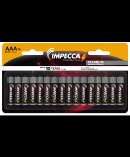 Alkaline AAA LR03 Platinum Batteries 16-Pack