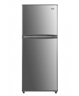 """Impecca 11.6 Cu. Ft. 24"""" Apartment Refrigerator with Top Mount Freezer, Stainless"""